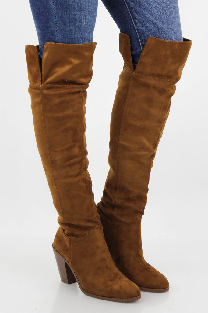 RESTOCK: Show Me Off Knee High Boots