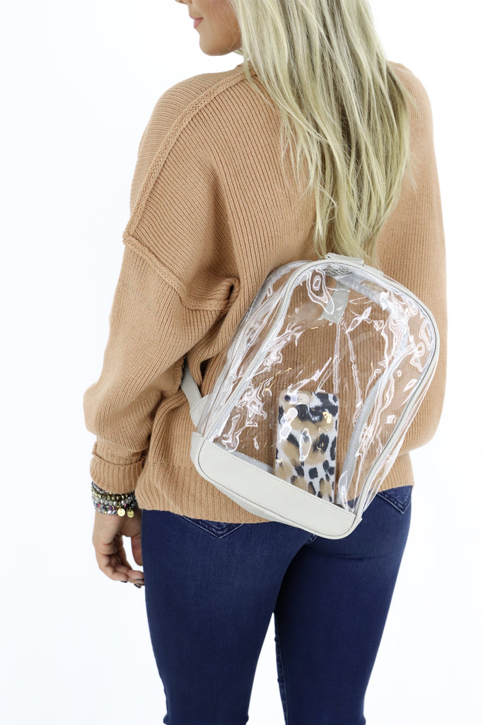 Ultimate Clear Sling Bag