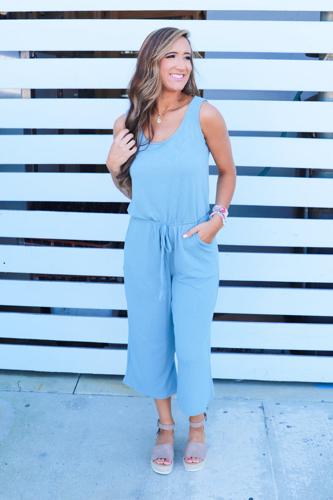 Talk About Effortless Jumpsuit