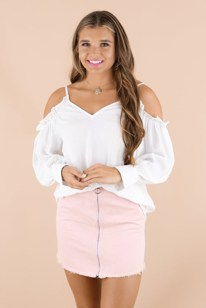 Treat Yourself Good Blouse