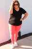 CURVY: Just One Love TikTok Leggings
