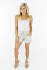 Say Something To Me Romper