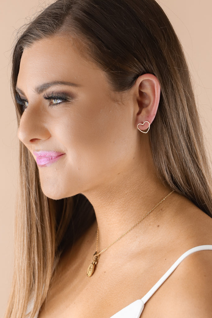 Jennifer Thames Love Earrings