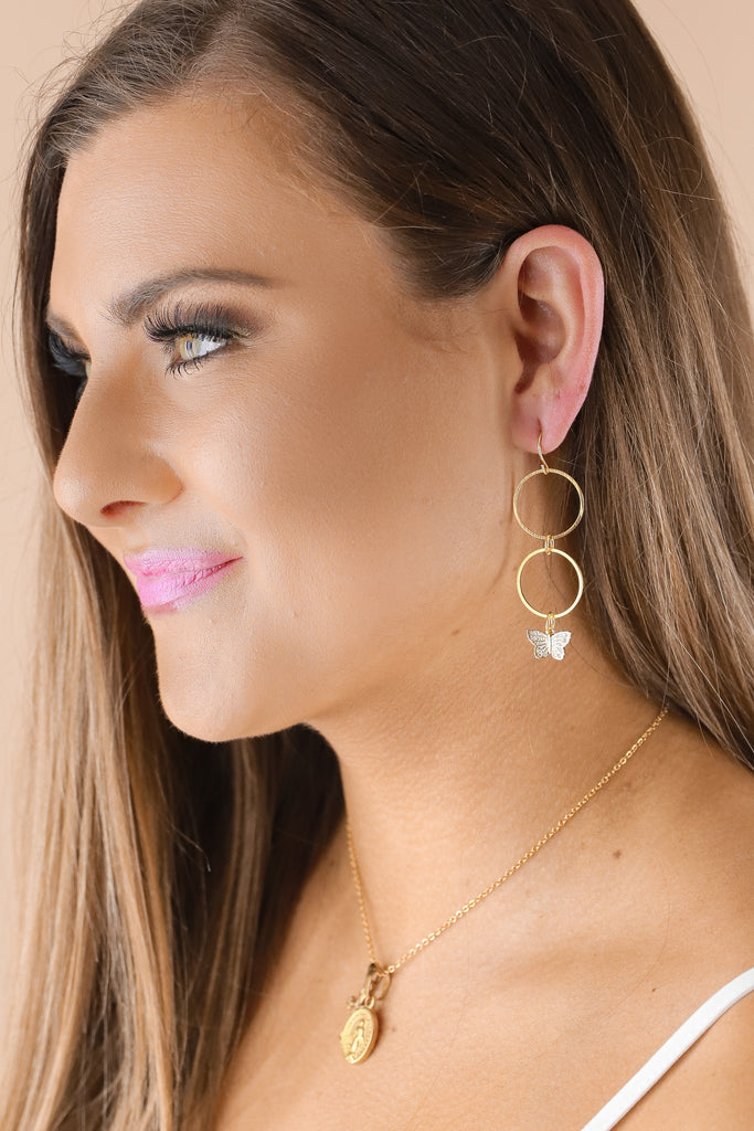 Jennifer Thames Elizabeth Earrings
