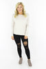 Love Me Like You Do High Rise Distressed Skinny