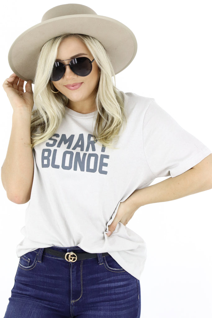 Smart Blonde Graphic Tee