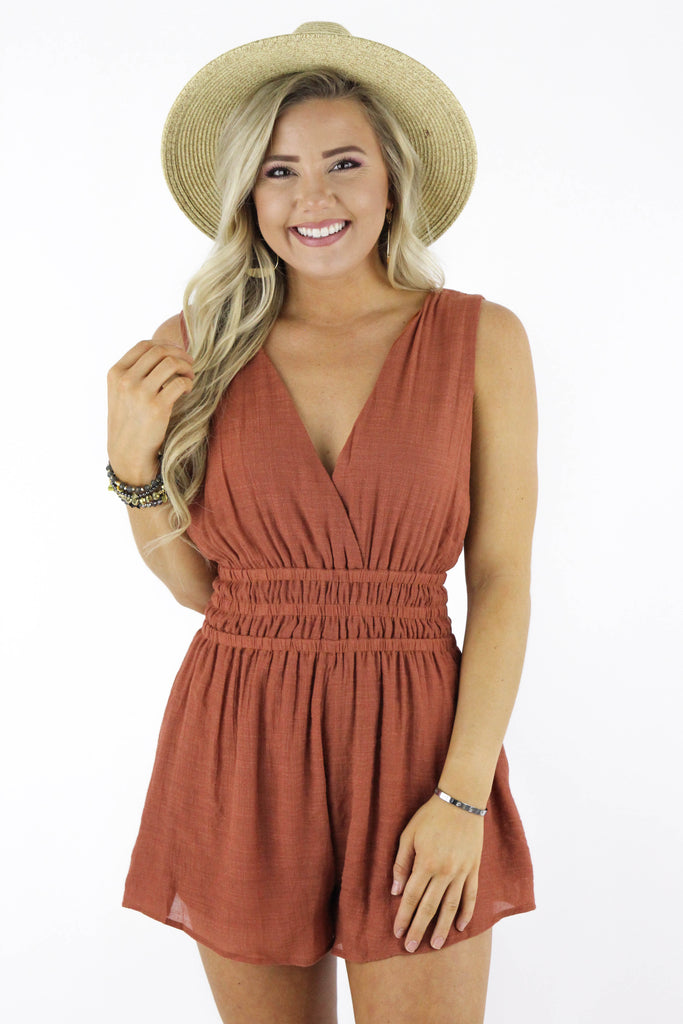 Enjoy This Now Romper