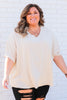 CURVY: Up My Alley Blouse