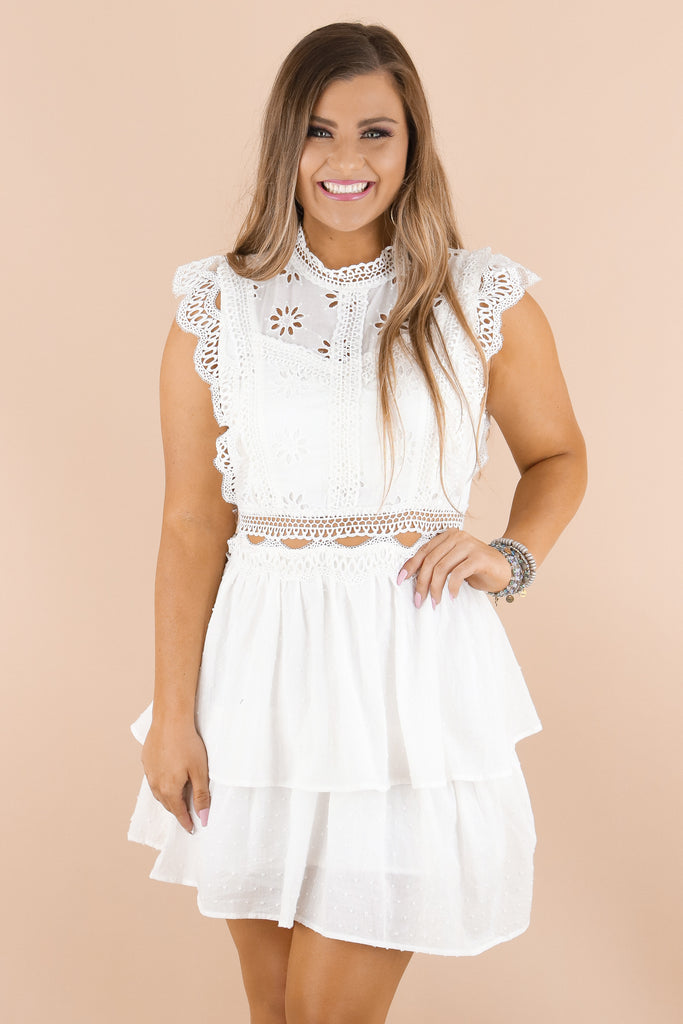 In Your Element Lace Dress