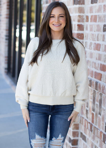 It's Just That Simple Sweater: Ivory