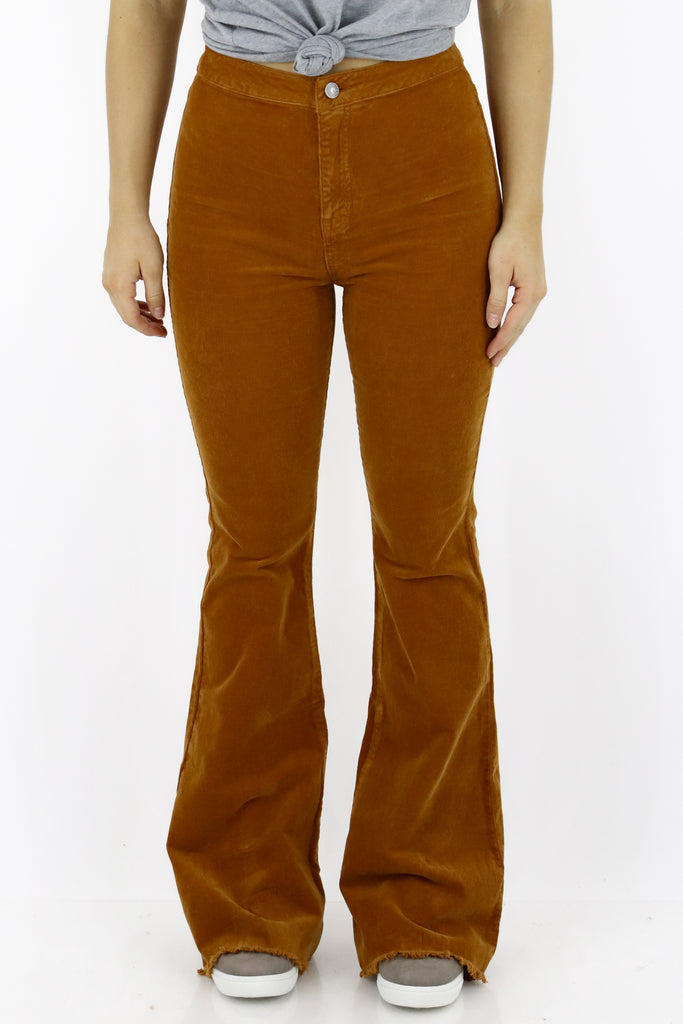 Call It A Date High Rise Corduroy Pants