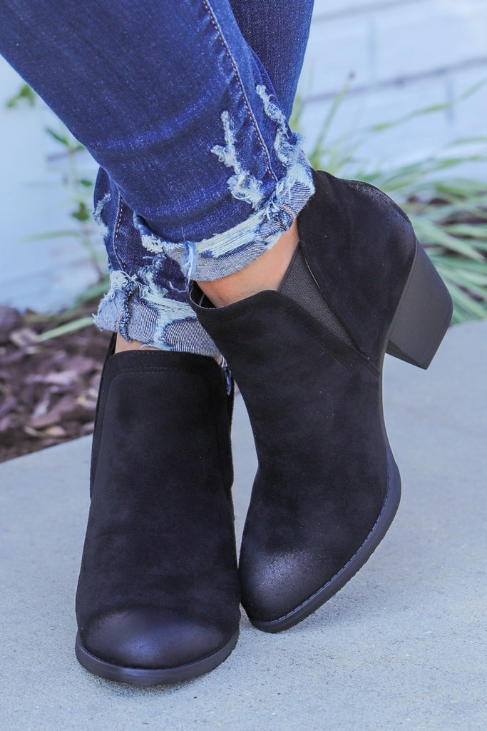 Learned From You Ankle Booties