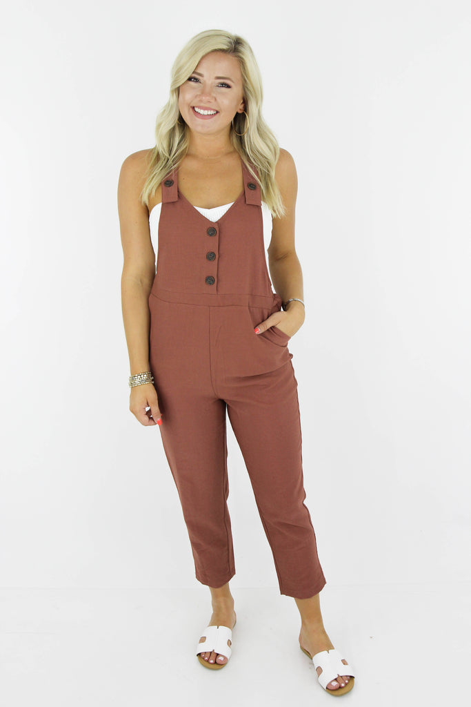 With The Current Cropped Jumpsuit