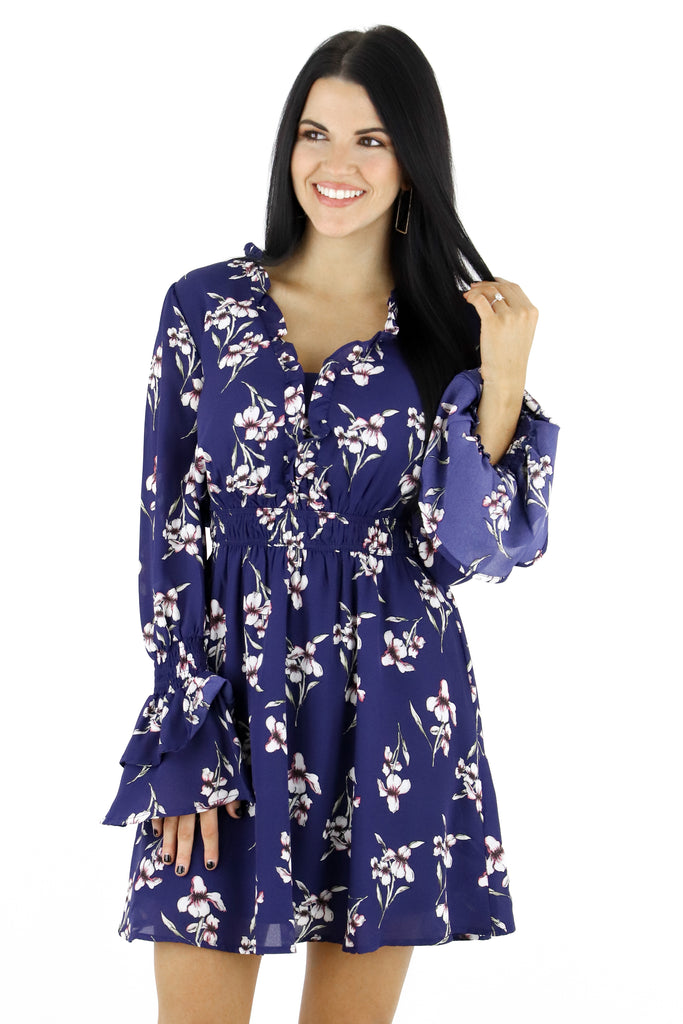 Promises Kept Floral Dress