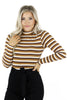See The Change Striped Bodysuit