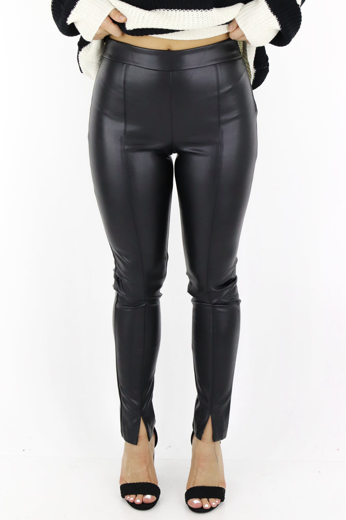 Take A Risk Faux Leather Pants