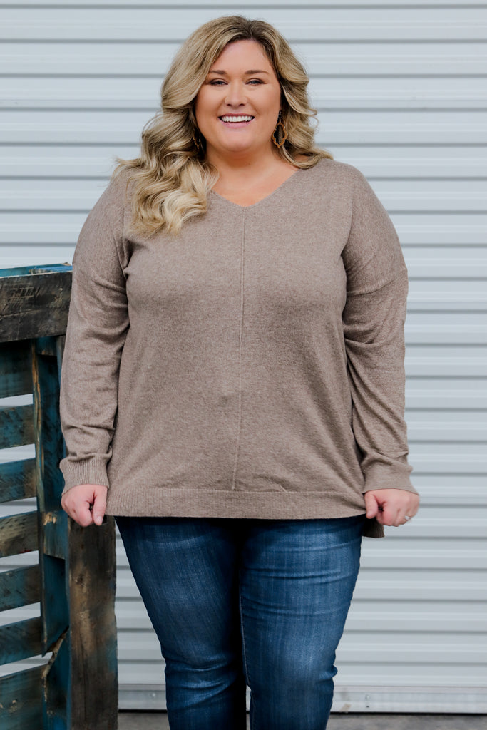 CURVY: Very Unforgettable Sweater