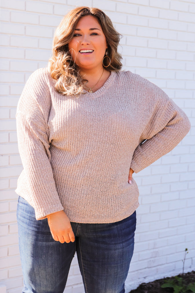 CURVY: Not Without Love Sweater