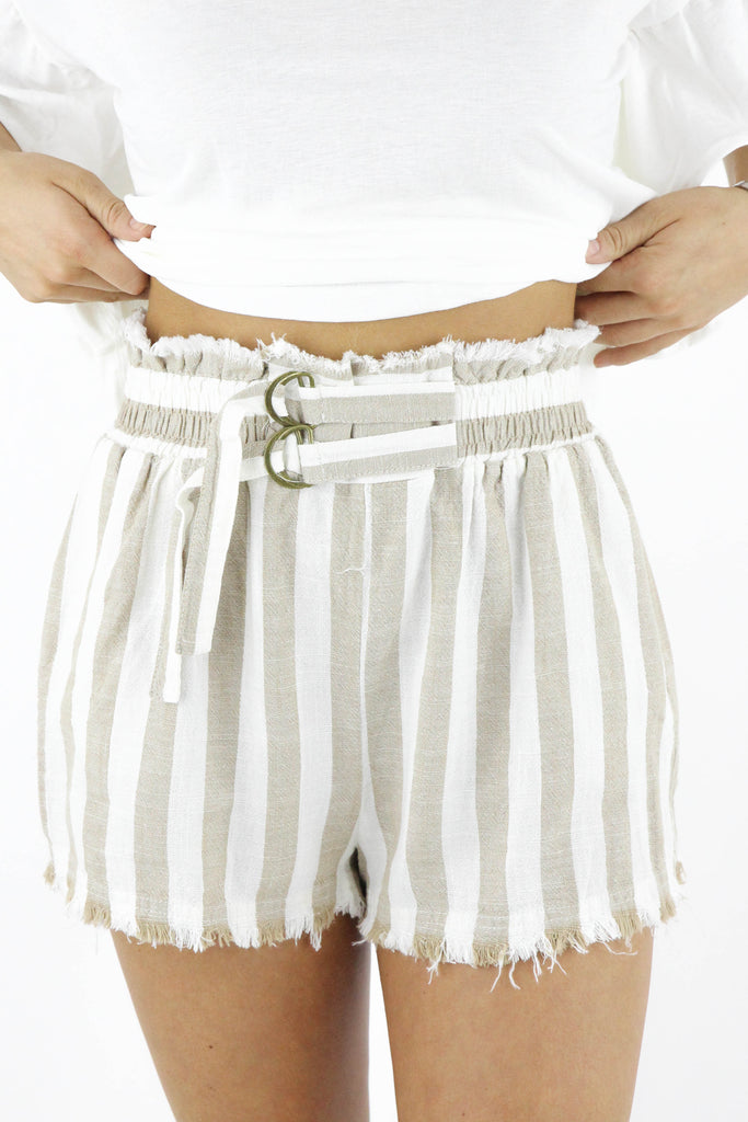 Someone Like It Striped Shorts