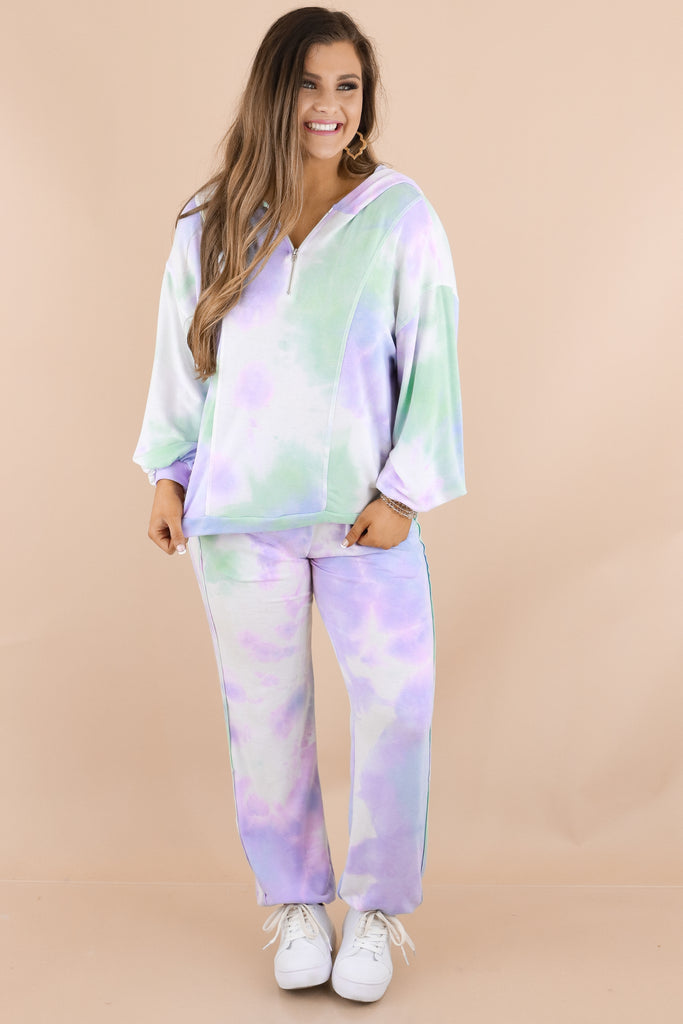 Casual Night Out Tie-Dye Joggers