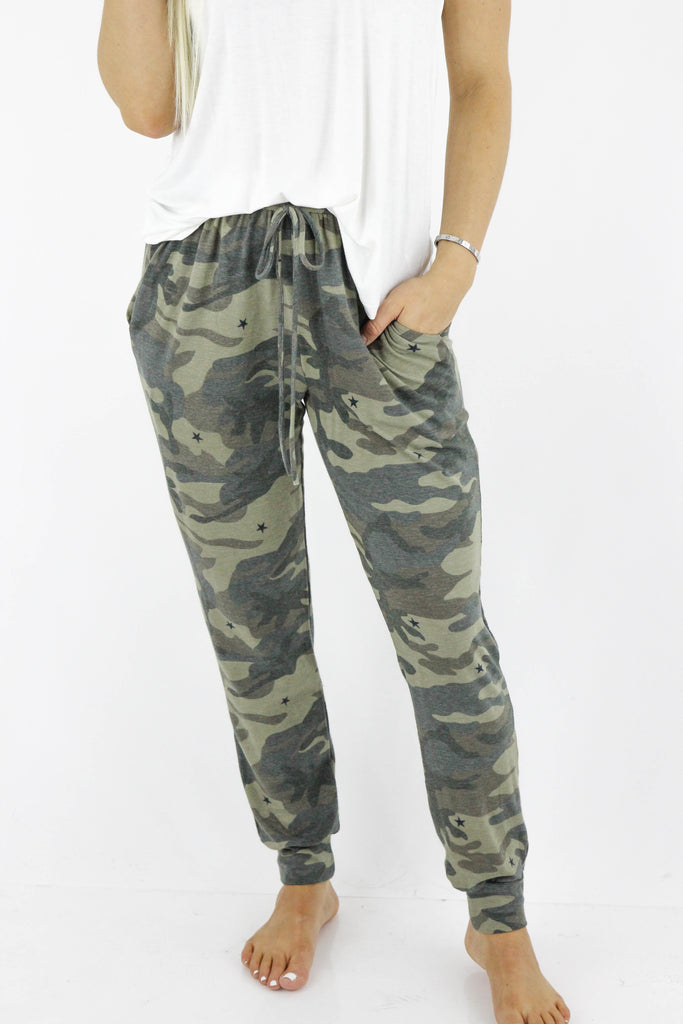 Lead The Way Camouflage Joggers