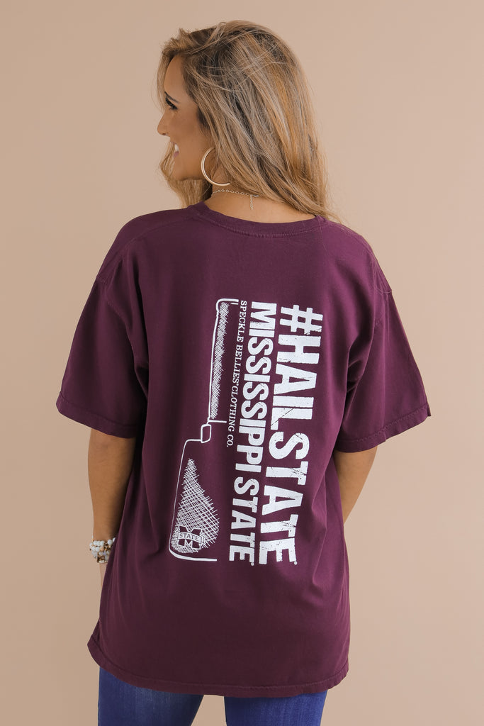 Hail State Cowbell Comfort Color T-Shirt