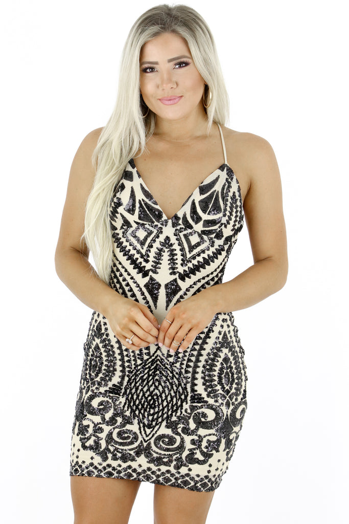 Glimmer And Glam Sequin Dress