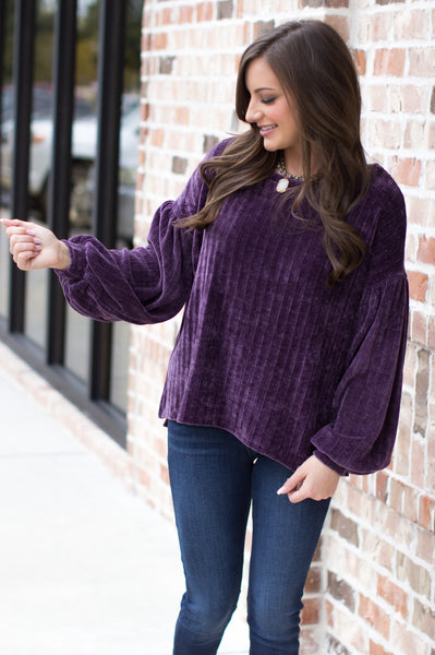 Free From Your Lies Sweater: Purple