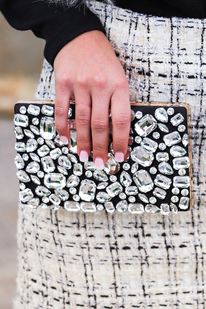 The Willow Embellished Crossbody/Clutch
