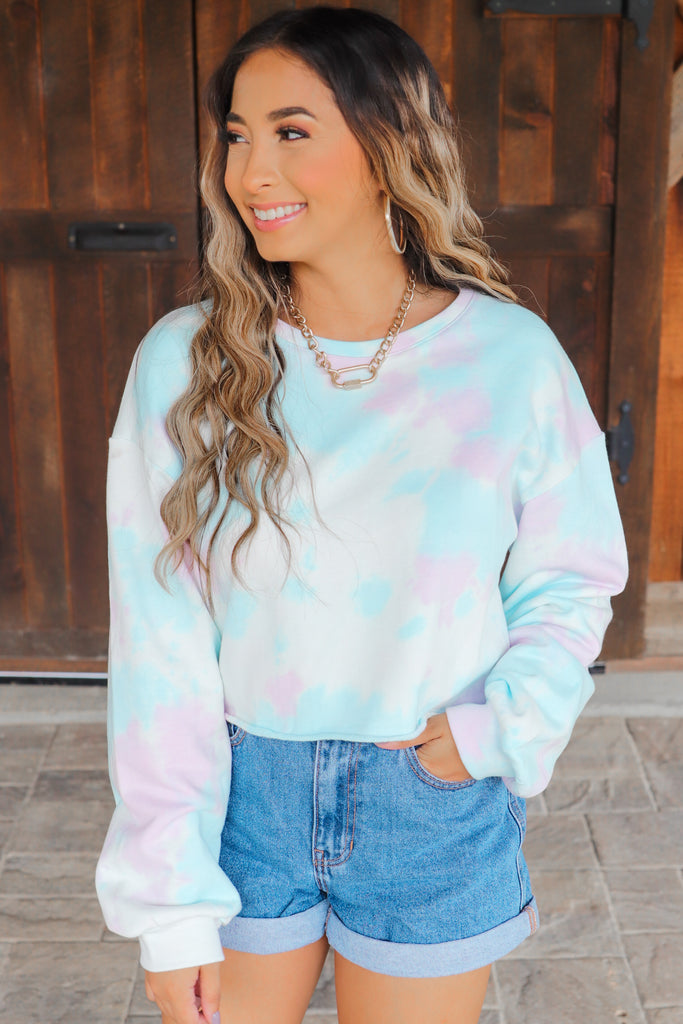 Peaceful Places Tie Dye Pullover