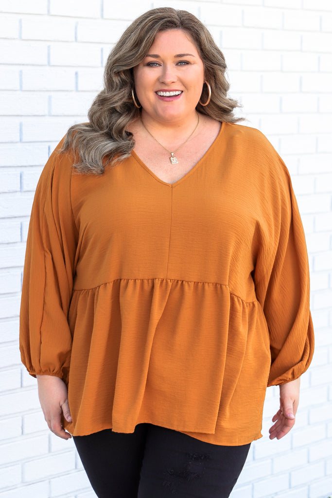 CURVY: Insightful Ideas Blouse