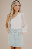 More Than A Chase One Shoulder Blouse