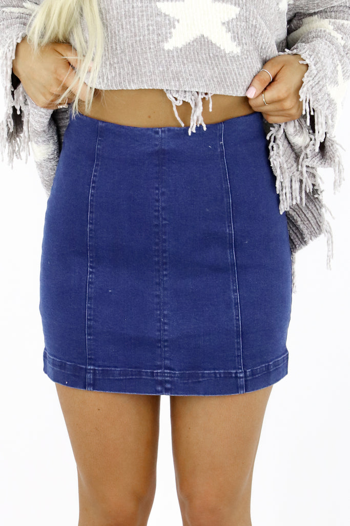 Part Of You Denim Skirt