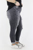 CURVY: Easy Days Ahead Distressed Skinny Jeans