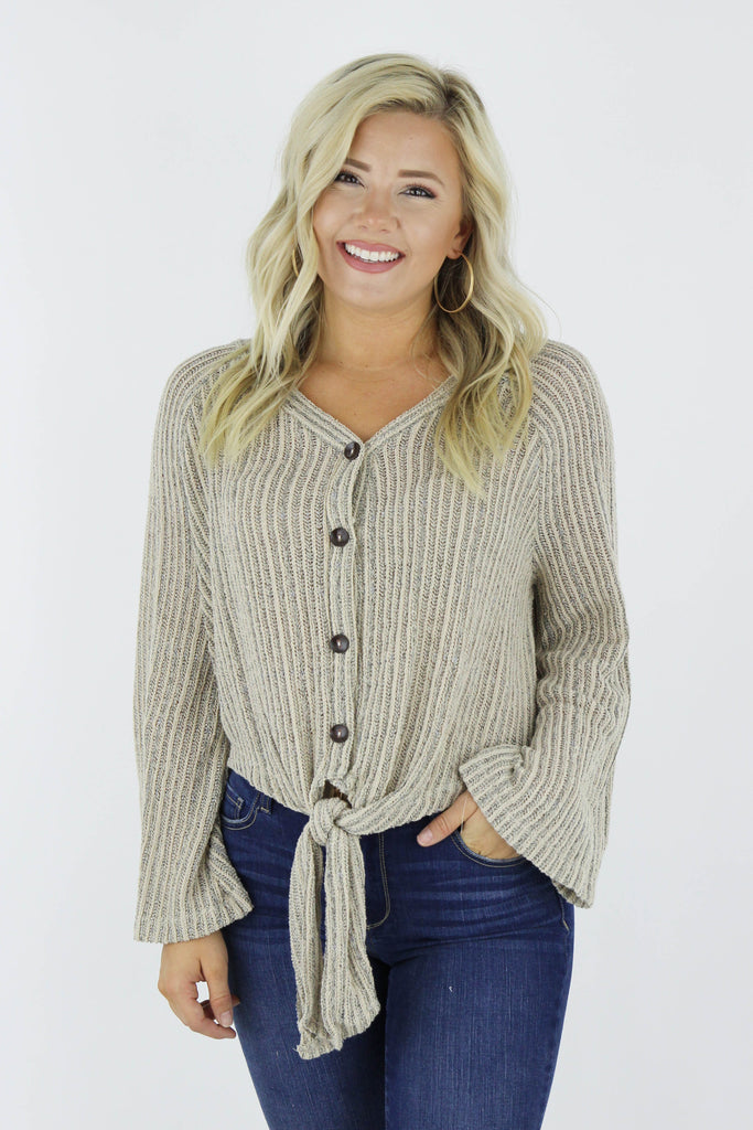 Still Standing Knit Top