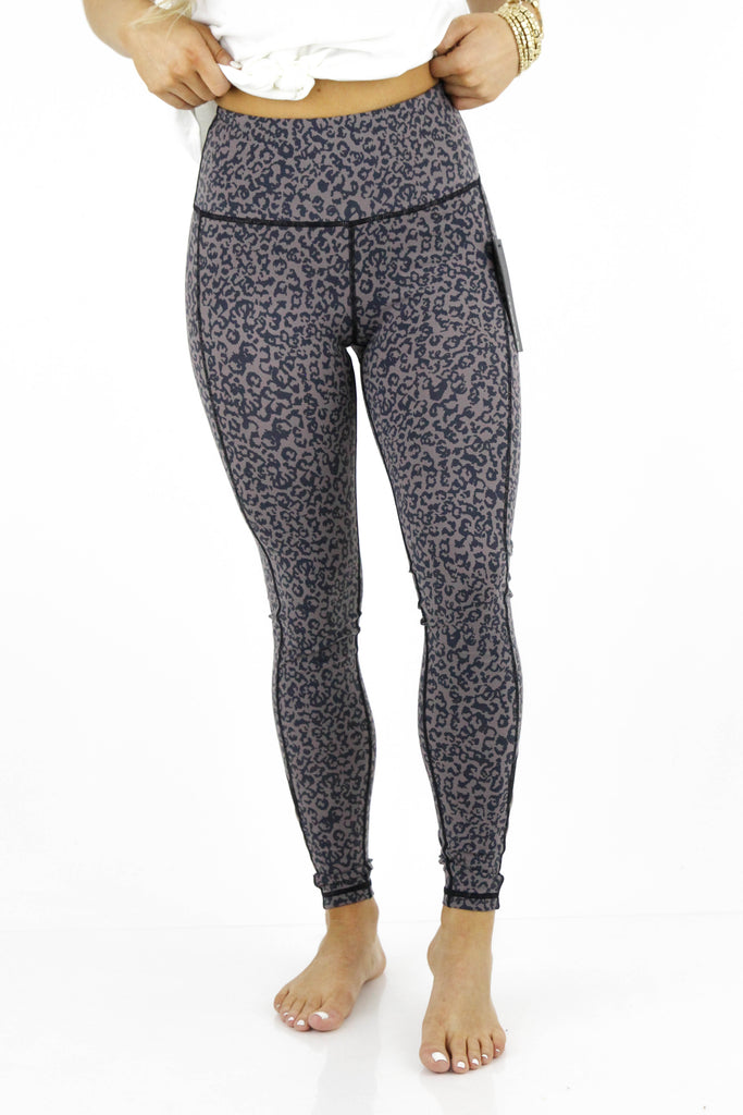 RESTOCK: Life's About To Get Good Leopard Print Leggings