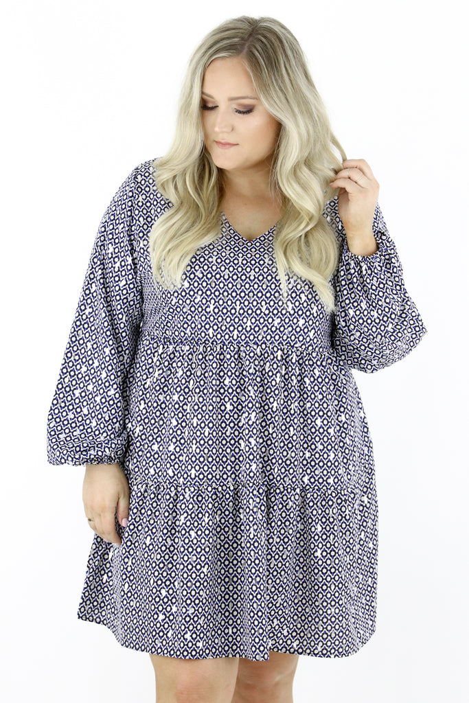 CURVY: Follow You Around Dress