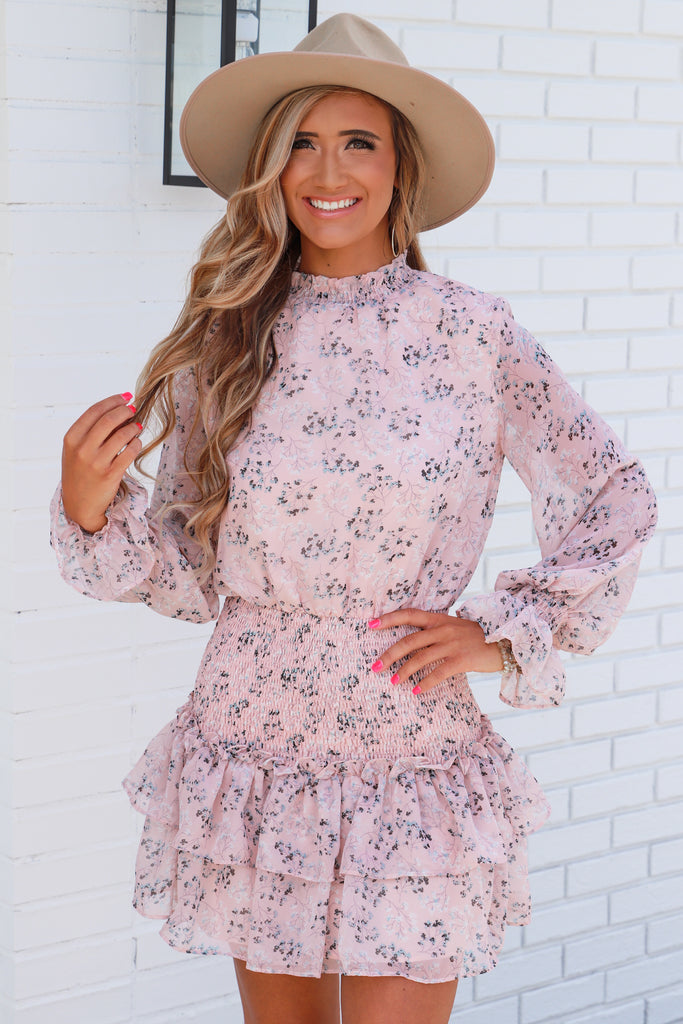 All My Secrets Floral Dress