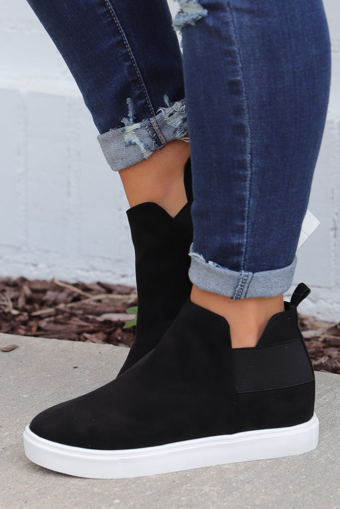 No Stopping Me Sneaker Wedges