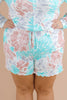 CURVY: Chasing After You Printed Shorts