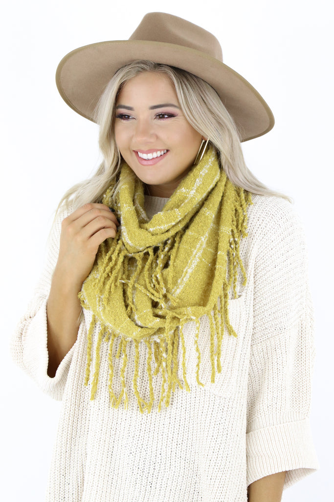 Layered Up Infinity Scarf
