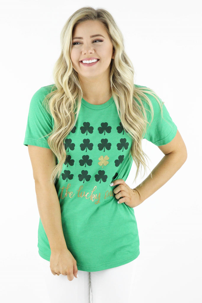 The Lucky One Graphic Tee