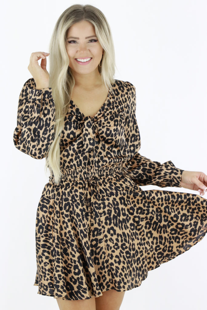 Print Pleaser Leopard Top