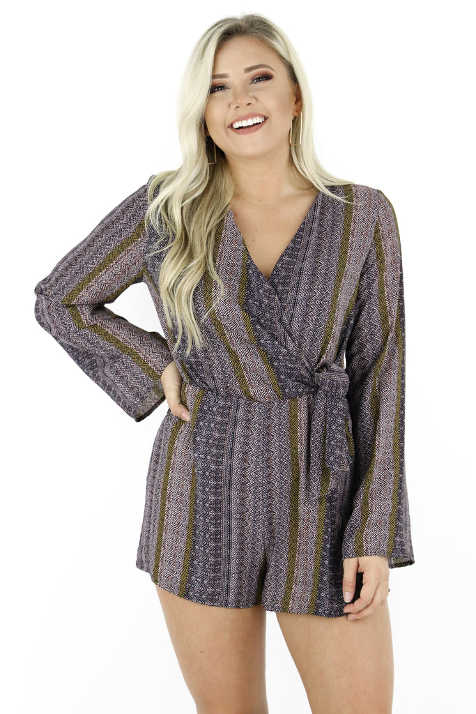 Time Of Day Romper