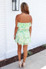 Greatest Escape Strapless Romper