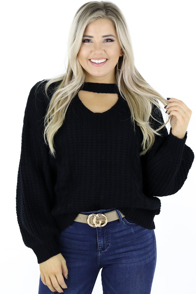 Consider The Options Sweater