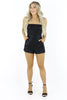 As You Wish Strapless Romper