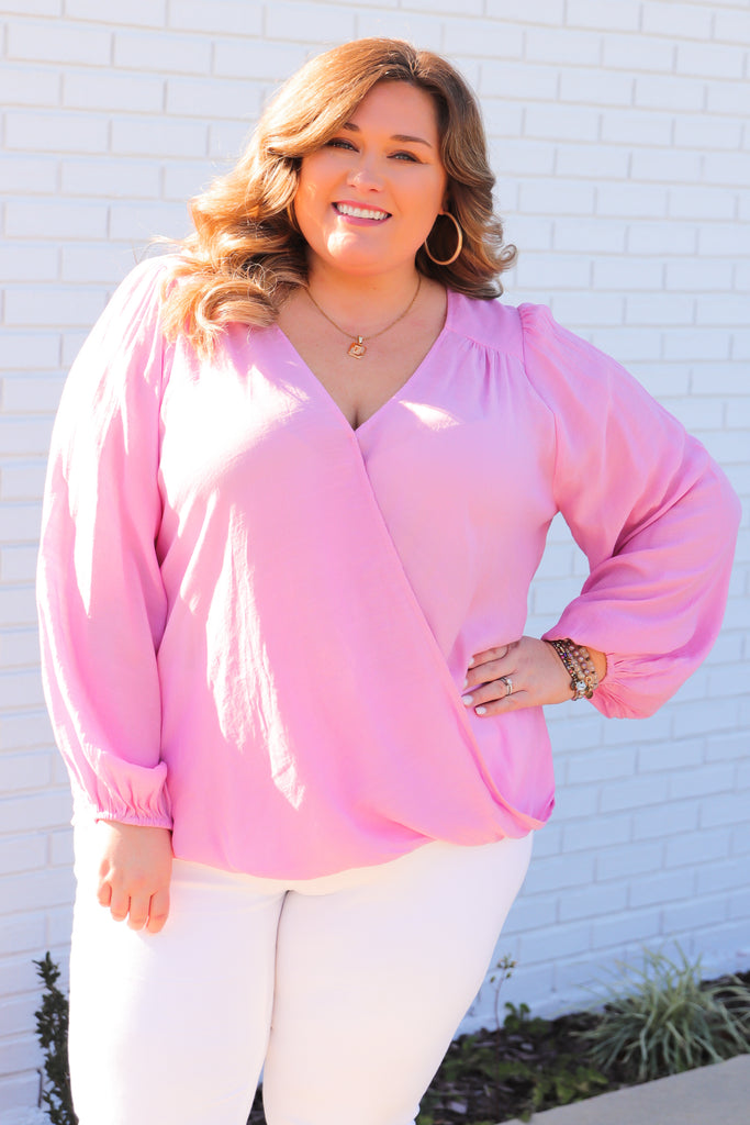 CURVY: Dressed For The Weekend Top
