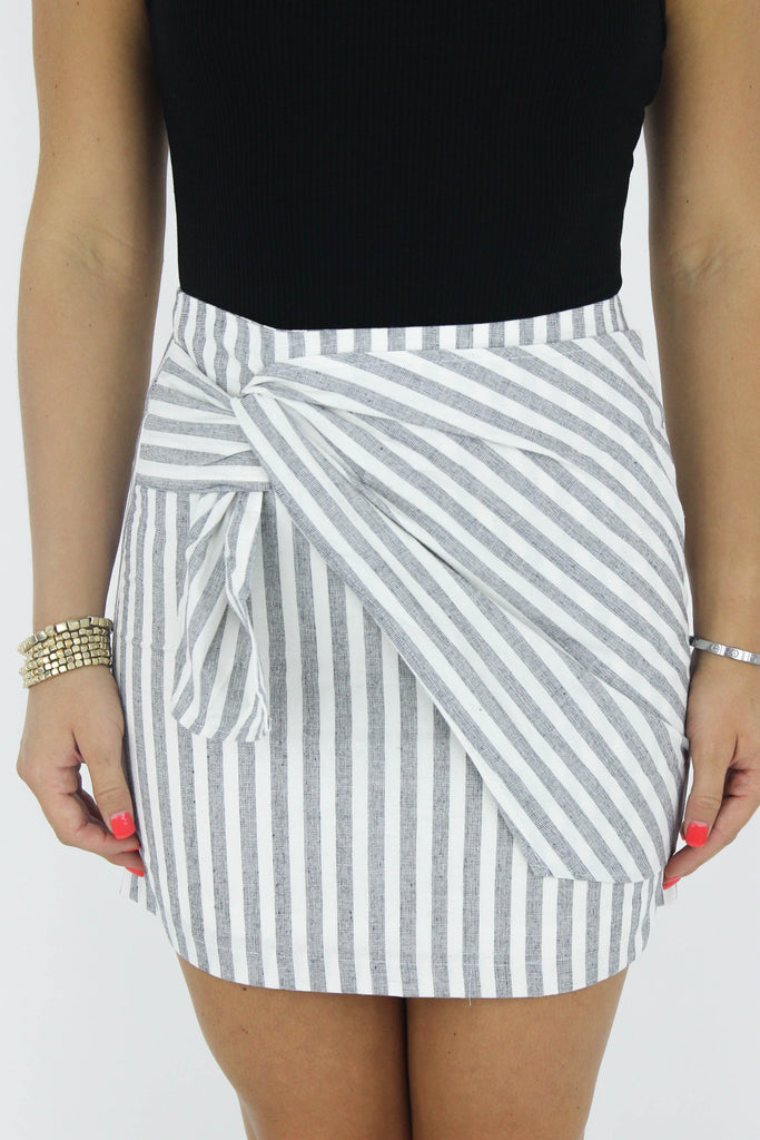 Ready To Go Striped Skirt