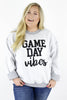 Game Day Vibes Inverted Graphic Pullover